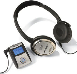 Bose QuietComfort 3 and Free MP3 player
