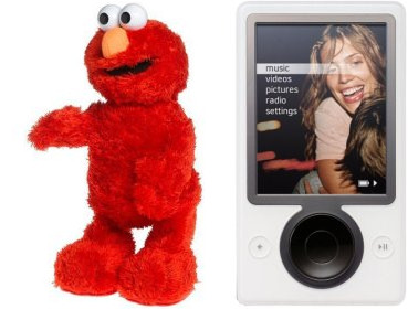 Amazon Customer Vote: Elmo and Zune