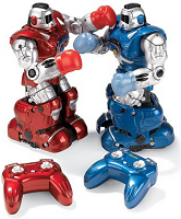 Hammacher Robotic Pugilists