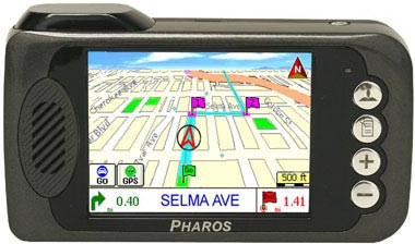 Pharos Drive PDR 135 Portable GPS Navigation System