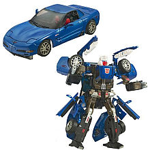 Transformers Alternators Corvette Autobot Tracks