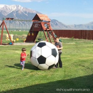 Giant Inflatable Soccer Ball from MindWare! (Giveaway)