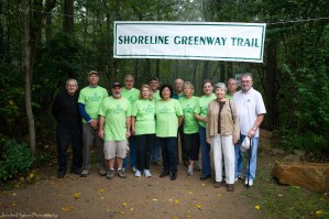 East Haven SGT Team at Oct 4 Trail Opening celebration. photo by Jennifer Higham