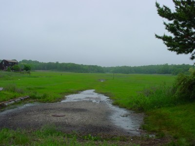 The East Haven Land Trust granted permission for the SGT to route trail through the preserve.