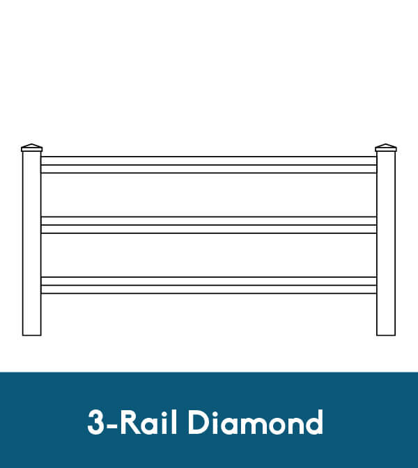 3-Rail Diamond
