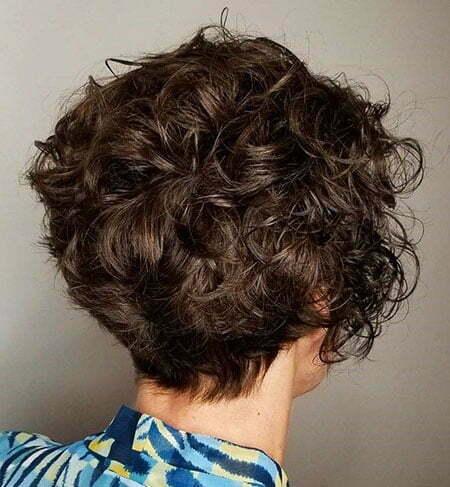 Short Curly Wavy Pixie