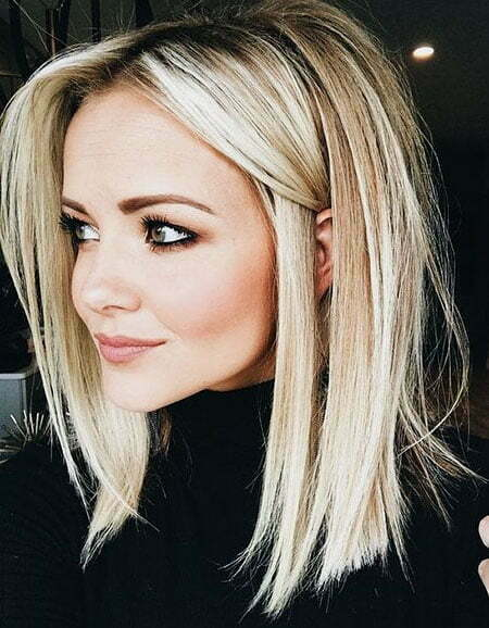 Straight Blonde Shoulder Ombre