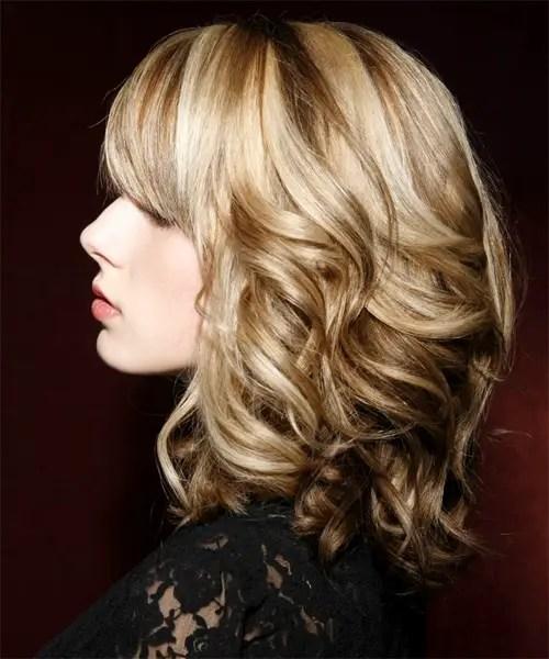 medium length wavy hairstyles for fine hair short. Black Bedroom Furniture Sets. Home Design Ideas