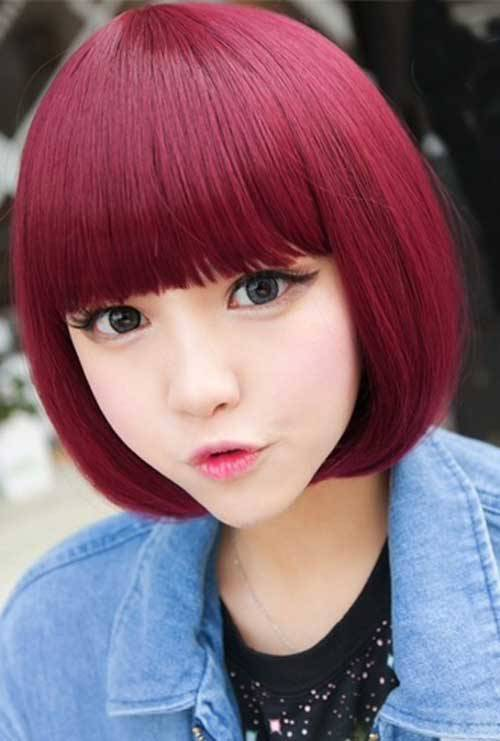 asian short hairstyles 2015