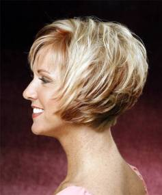 2014 Short Fine Hairstyles For Women Over 40