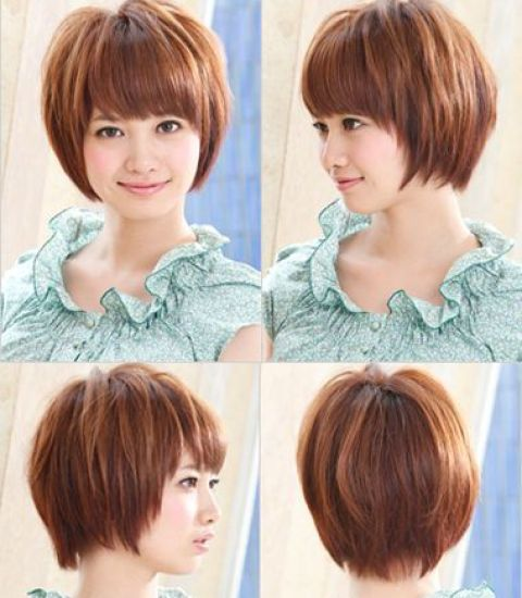 Short Hair For Round Faces Asian : Best short hairstyles for round faces