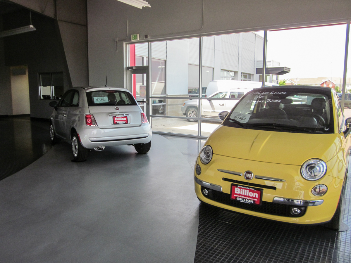 Driven 2012 Fiat 500 Short Shift