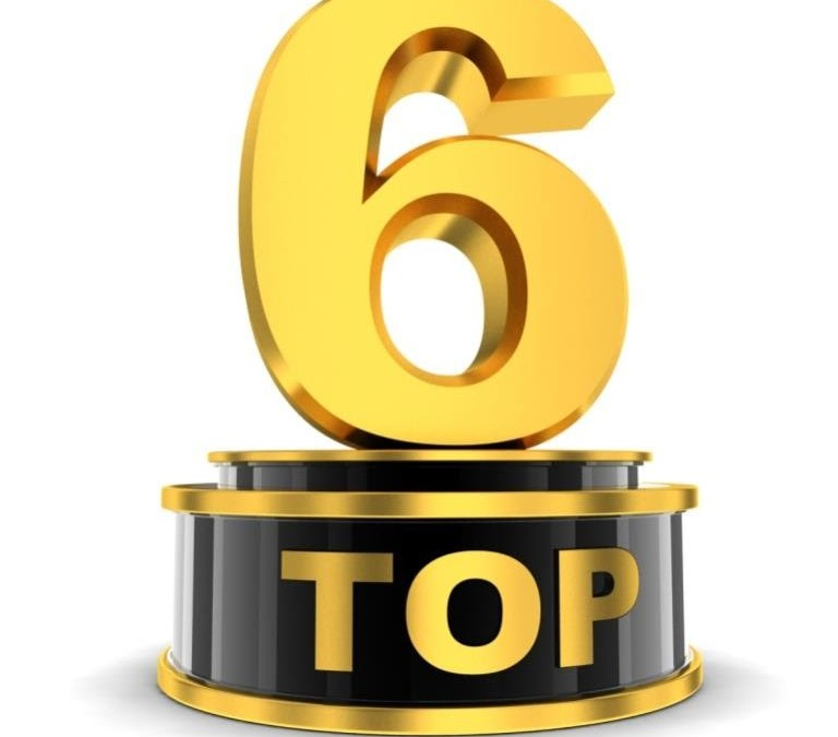 The Top 6 Most Read Articles in 2016