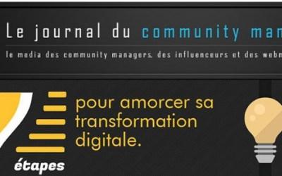 7 étapes pour introduire le changement au digital