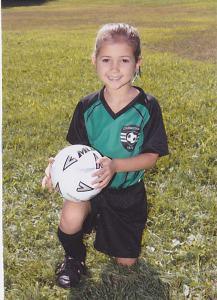 My Cute Soccer Baby