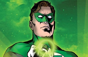 The Green Lantern in development