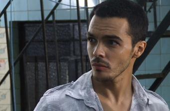 Shalim Ortiz filming in Mexico