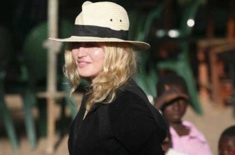 Madonna directing her new movie, 'W.E,' in Paris