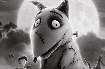 First look at Tim Burton's 'Frankenweenie' Poster