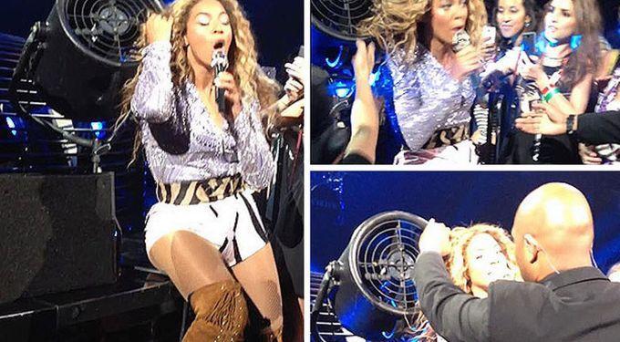 Watch Beyoncé Win A Hair Yanking Fight With A Fan