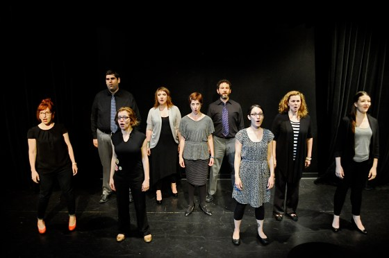 Improvised Sondheim Project 1 (Photo Credit Heather Scholl)
