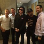 Kiss Legend GENE SIMMONS Visits American Junkie to Support Umbrellas For Peace