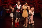 Becky Gulsvig, Michelle Knight, Lulu Picart and Jen Bechter in a scene from DISENCHANTED!