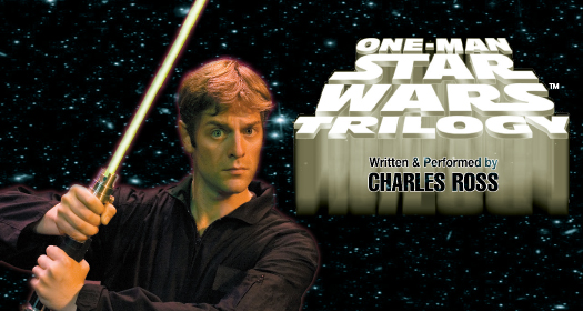 shows one man star wars trilogy off broadway