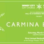 Windy City Gay Chorus and Windy City Treble Quire's CARMINA BURANA with David Cerda's Hell In A Handbag Productions