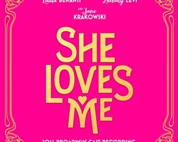 She Loves Me - CD Cover