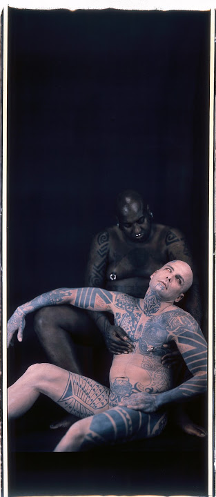 Catherine Opie   Ron Athey/The Sick Man (from Deliverance), 2000 Polaroid 110 x 41 inches Private collection
