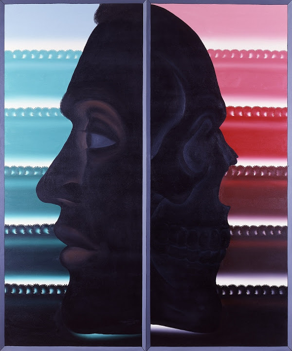 Roger Brown Illusion (1985) Copyright: The School of the Art Institute of Chicago and the Brown family. Courtesy of Kavi Gupta. Photo-James Connolly