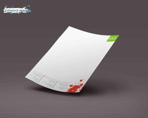 NSL4982 letterhead design