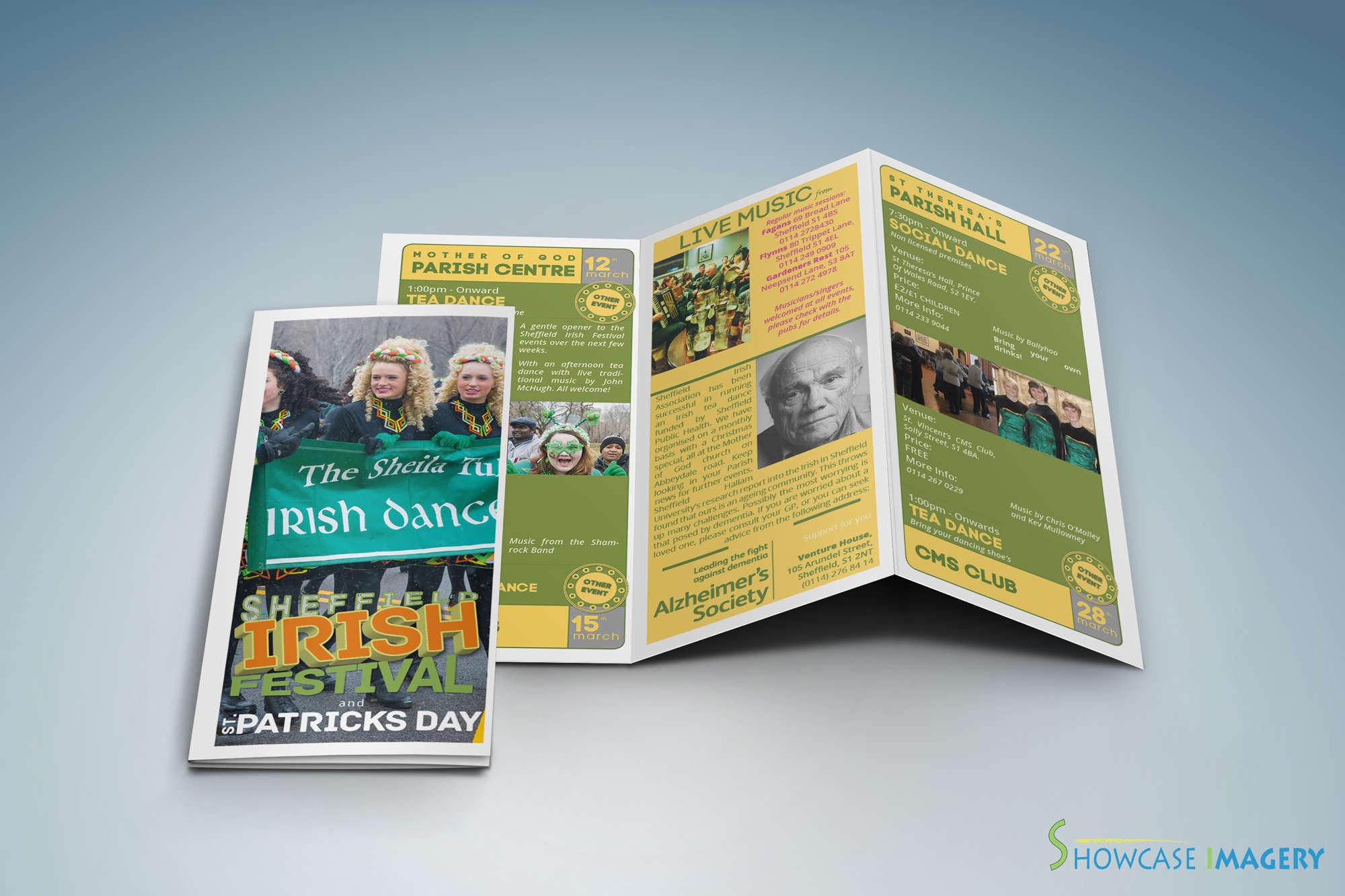 inner view sia st patricks day leaflet