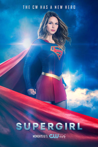 Supergirl -- Image SPG_S2_KEYART.1 -- Pictured: Melissa Benoist as Supergirl -- Photo: Frank Ockefels III/The CW -- © 2016 The CW Network, LLC. All Rights Reserved