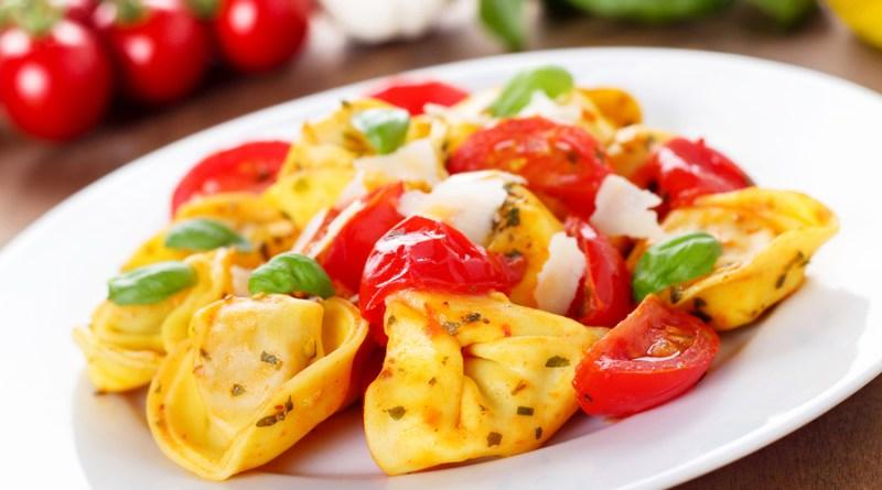 Tortellinis Pasta Dish Low Calorie