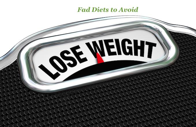 10 Diet Fads to Avoid