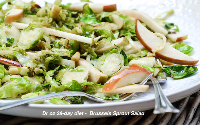 Dr oz 28-day diet Brussels Sprout Salad