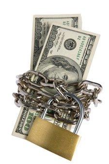 dollars-locked