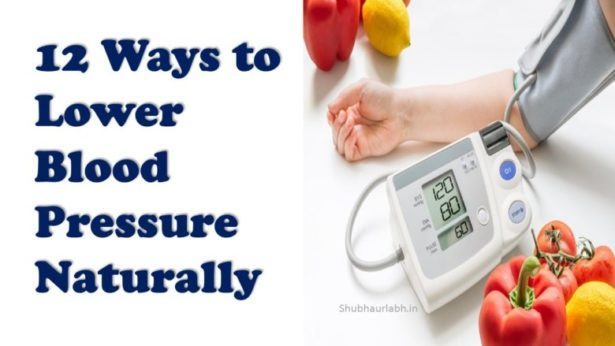 12 Ways to Lower blood pressure Naturally