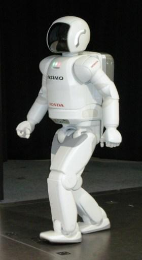 ASIMO, model of 2005