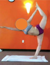 Lock Knee Alignment Bikram Yoga