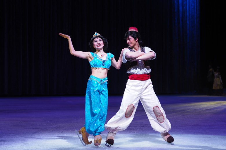 Jasmin og Aladdin - Disney On Ice