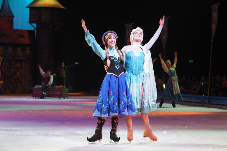 Anna og Elsa - Disney On Ice