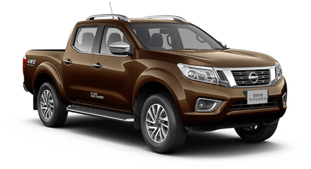 nissan np300 navara double cab earth brown