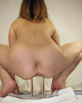 anal huge insertion labia stretching