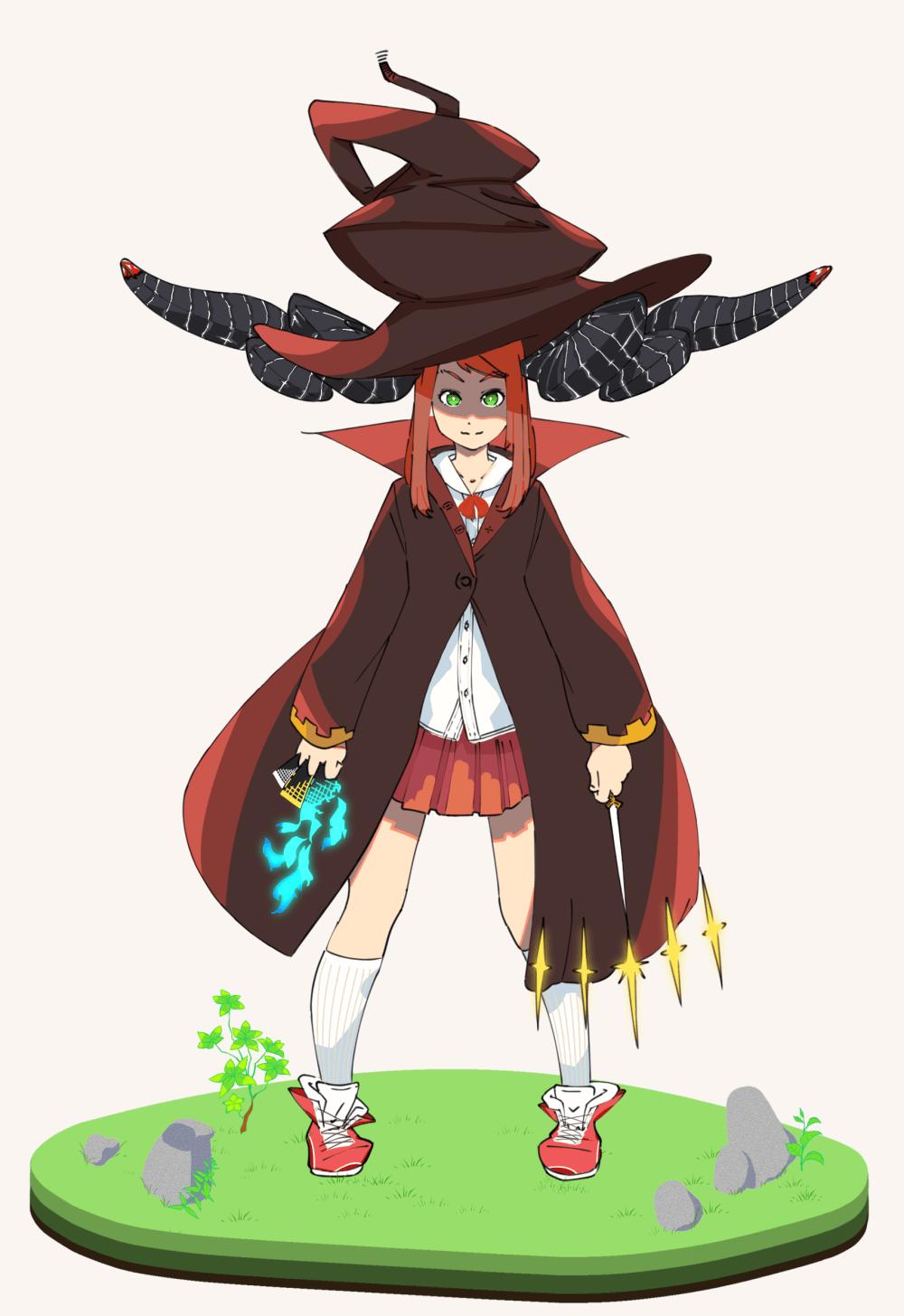 ツノの魔女
