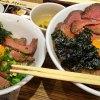 どデカいローストビーフ丼「焼肉ここから」ランチ(東京都神田)