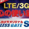 ヨドバシ LTE使い放題SIMはどういう人がお得なのか