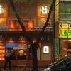 らーめん屋の豚しゃぶ「つけ麺」の舎鈴で「つけ肉」(東京都八重洲)